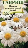 Гавриш Нивяник крупноцветковый белый